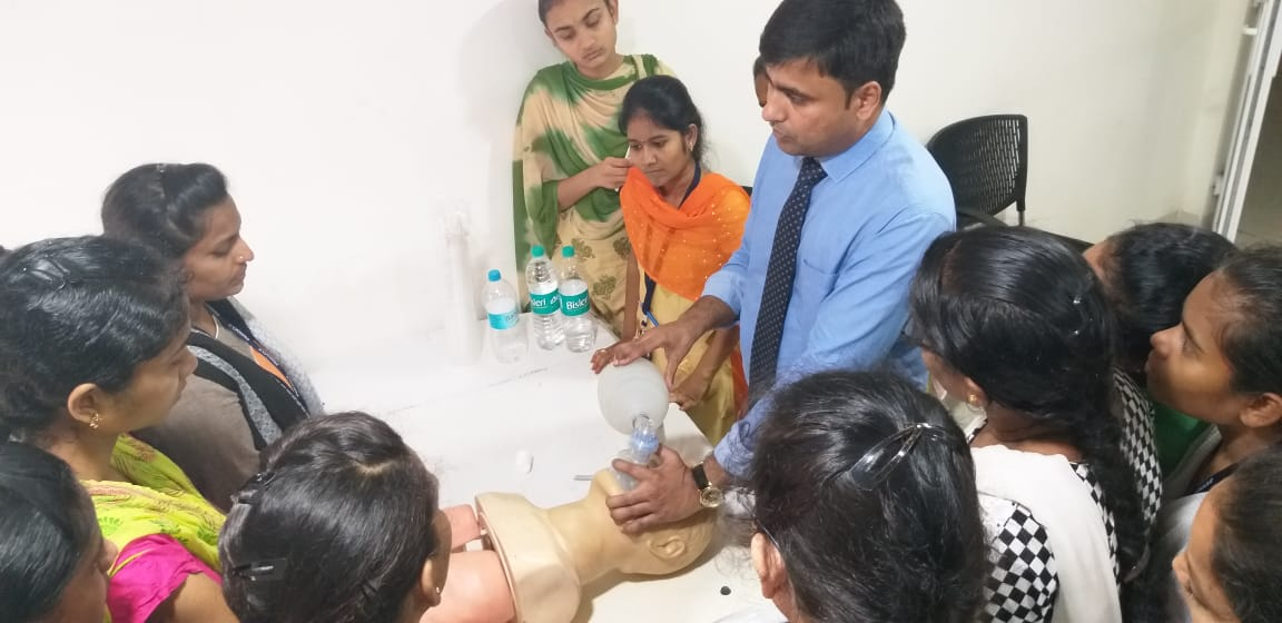 Critical Care Nursing in Pinnacle Hospital At Vizag